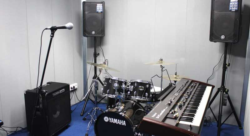 Music rehearsal space